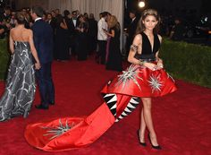 Zendaya Coleman at the 2015 Met Gala in New York City. See all of the actress's best looks.