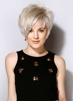 Women want to update their look with a new season, you can have new short haircut for this fall! Here are the images of Really Trendy Asymmetrical Pixie Cuts. Short Straight Haircut, Bob Haircut With Bangs, Short Hair Cuts, Short Hair Styles, Haircut Styles, Short Bobs With Bangs, Haircut Medium, Layered Bob Hairstyles, Short Bob Haircuts