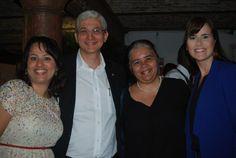 Maria Paula Cormaru, do Hilton, Dylmar Souza, do Hoffmann, Patricia Guerra, do executive 1 e Deborah Soares, do Hilton