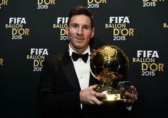 Golden ball and Golben man, Messi