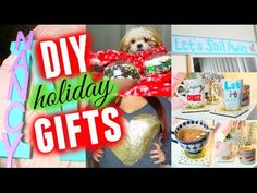 DIY Holiday Gifts! Cute, Easy, & Cheap! - YouTube