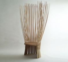 crazy bamboo chair