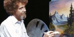 Share us your re-creations of some of Bob Ross' most beautiful paintings!