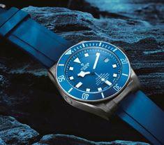 TimeZone : Industry News » Basel 2015 - Tudor Pelagos Blue