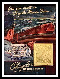 18 best chrysler marine images marines boating mopar rh pinterest com