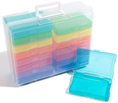 We R Memory Keepers Storage Bin with Mini Cases # affiliate # storage # organize # craft room # art supply
