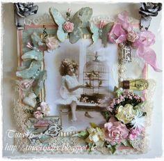 Birds & Butterflies - Live & Love Crafts Inspiration and Challenge Blog