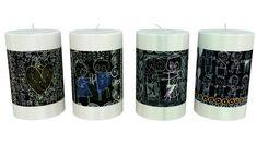 Se hvad Poul pava har lavet af spænende projekter Pillar Candles, Taper Candles