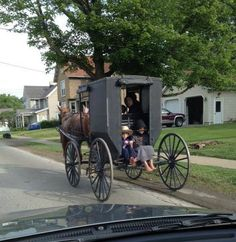 It's a beautiful day for a drive through Amish Country