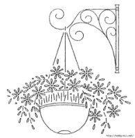 """Gallery.ru / Vladikana - Альбом """"Цветы в корзине для вышивки"""""""