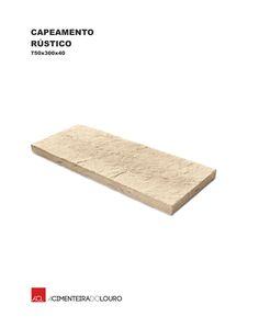 Capeamento Rústico  Rustic Capping