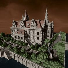 Breakers Mansion Minecraft