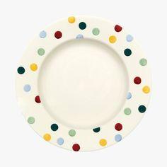 "Seconds Polka Dot 10 1/2"" Plate"