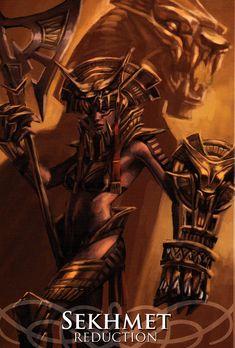 Sekhmet - Goddesses & Sirens by Stacey Demarco&Jimmy Manton