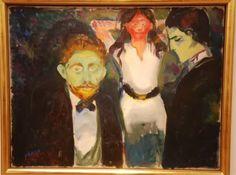 Edvard Munch, Jealousy, 1907.