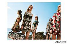 Valentino SS15 campaign | amazing art direction