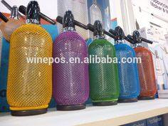 soda siphon, soda bottle, Vintage Glass Soda Siphon Soda Bottles, Bar Accessories, Water Bottle, Glass, Stuff To Buy, Vintage, Drinkware, Water Flask, Corning Glass
