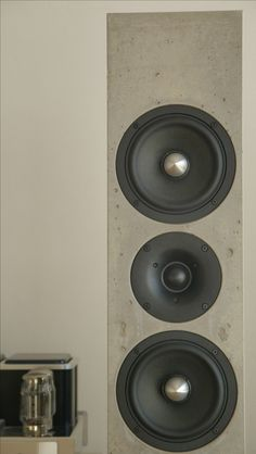 High end Lautsprecher aus HP Gussbeton von BETONart Audio - made in Germany!
