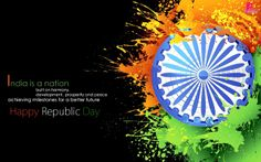Happy Republic Day Wallpaper 26 Jan Republic Day of India Greetings Message Picture Card 26 January Indian Republic Day Wishes SMS