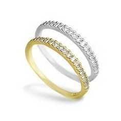 Diamond Ring (Available in 14K Yellow Gold or 14K White Gold) - Rings - Jewelry Type