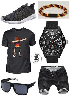 04127927af6f Dabbing Fussball Spieler Deutschland! ALBASPIRIT Shirt - Dabbing Fussball  Spieler Dab Deutschland,Sublevel Herren Jogg Jeans Shorts,Adidas Sneaker, Adidas ...