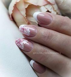 Elegant Nail Designs, Fall Nail Art Designs, French Acrylic Nails, Best Acrylic Nails, Purple Nail Art, Glitter Nail Art, Nail Manicure, Gel Nails, Ideas