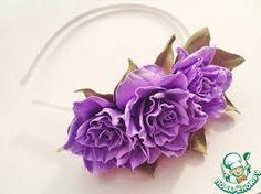 Картинки по запросу цветы из фоамирана