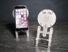 rogeriodemetrio.com: Star Trek Enterprise NCC-1701 Smart Phone Stand