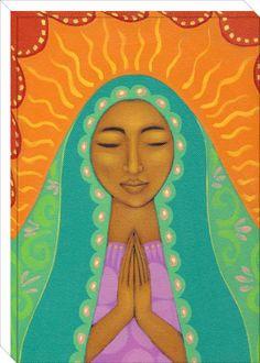 Virgin de Guadalupe Artist: Tamara Adams
