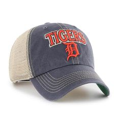 1fd481537b148 Detroit Tigers 47 Brand Tuscaloosa Vintage Navy Clean Up Adjustable Hat
