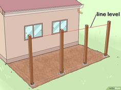 How to Add a Lean To Onto a Shed. When your shed or other storage building no longer provides enough room, you can add additional storage if you add a lean-to onto a shed. If the existing shed is structurally sound and has an exterior wall. Shed Plans 12x16, Lean To Shed Plans, Diy Shed Plans, Lean To Shed Kits, Porch Plans, Lean To Carport, Lean To Roof, Free Standing Pergola, Diy Storage Shed