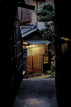Small Japanese street