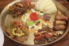 Tibetan Platter at Yeti - The Himalayan Kitchen