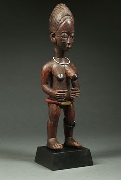 Baule Shrine Figure by the Asher Master (1890 - 1910)r.jpg (1343×2000)