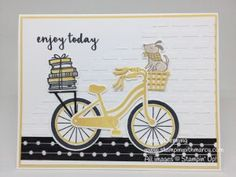 Bike Ride Bundle, Pattern Party Decorative Masks, Embossing Paste, Pieces & Patterns, Stampin' Up!  www.stampinwithmarcy.com