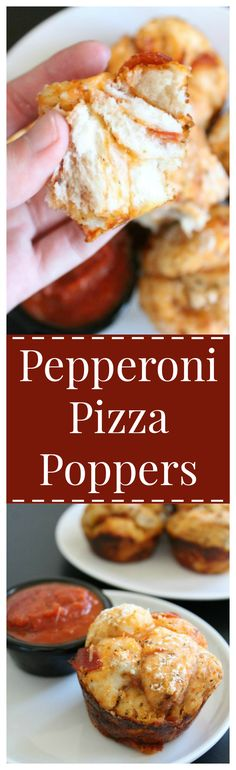 Pepperoni Pizza Poppers – A quick and easy snack or meal with all of your favorite pepperoni pizza flavors!
