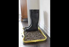 DIY: Rain Boot Tray | Photos | HGTV Canada