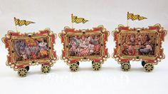 Circus train altoid tins by Racky Road's etsy shop:  http://www.etsy.com/shop/RackyRoad?ref=seller_info