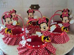23 Clever DIY Christmas Decoration Ideas By Crafty Panda Minie Mouse Party, Mickey E Minnie Mouse, Baby Mouse, Mini Mouse, Mickey Party, Mickey Mouse Birthday, Mouse Parties, Ideas, Google