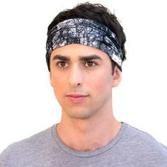 Men's hand dyed organic cotton headband. Great for every adventure and sure to keep your hair out of your face and sweat out of your eyes.