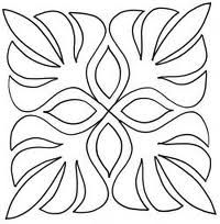 palm leaf stencil - Google Search