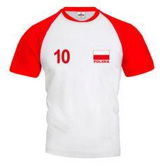 POLSKA Koszulka Siatkarska Biało - Czerwona Z Własnym Nadrukiem Volleyball, Sports, Tops, Fashion, Unitards, Poland, Moda, La Mode, Sport