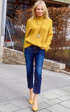 Lo mejor en estilo de Instagram de Bibi Horst, experta en estilo 50+   Experto en estilismo y antiedad 45+ Over 50 Womens Fashion, Fashion Over 40, 50 Fashion, Autumn Fashion, Fashion Outfits, Dressy Casual Outfits, Stylish Outfits, Fashion Bloggers Over 40, Mode Ab 50