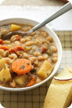 Potato soup 15 Easy & Delicious Vegan Slow Cooker Recipes - ChooseVeg.com