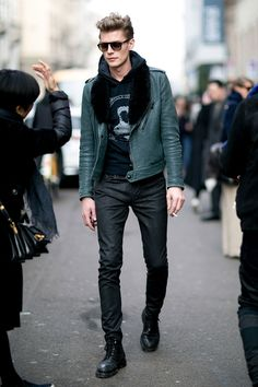 Off Duty Male Models Street Style Milan.