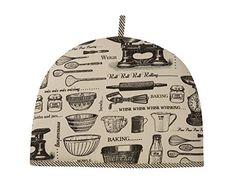Gail's favorite STYLE of tea cozy Ulster Weavers Baking Tea Cosy