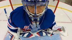 GoPro: On the Ice with Henrik Lundqvist - Episode 3 Henrik Lundqvist, Rangers Hockey, Action Photography, Episode 3, Gopro, Nhl, Football Helmets, Adventure, Skate