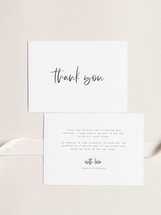business thank you cards This printable thank you card template thank you note template is fully editable. You have the freedom to edit every detail in the template to make it p Thank You Card Design, Thank You Card Size, Business Thank You Cards, Wedding Thank You Cards, Card Wedding, Wedding Fun, Wedding Dress, Personalized Thank You Cards, Printable Thank You Cards
