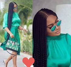 Black Girl Braids, Braided Hairstyles For Black Women, Braids For Black Hair, Cornrows Braids For Black Women, Braids Hairstyles Pictures, African Braids Hairstyles, Wig Hairstyles, Feeder Braids Hairstyles, Braided Cornrow Hairstyles