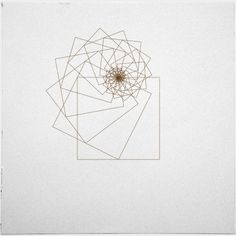 #338 Square attractor – A new minimal geometric composition each day